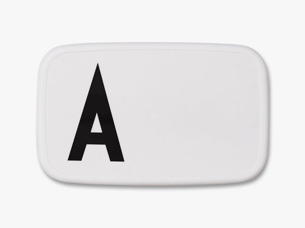 A - Personal Lunch Box fra Design Letters