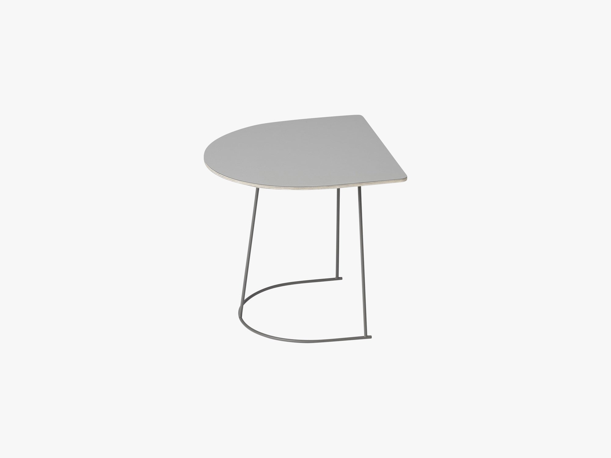Airy Coffee Table - Half Size, Grey - Nanolaminate fra Muuto