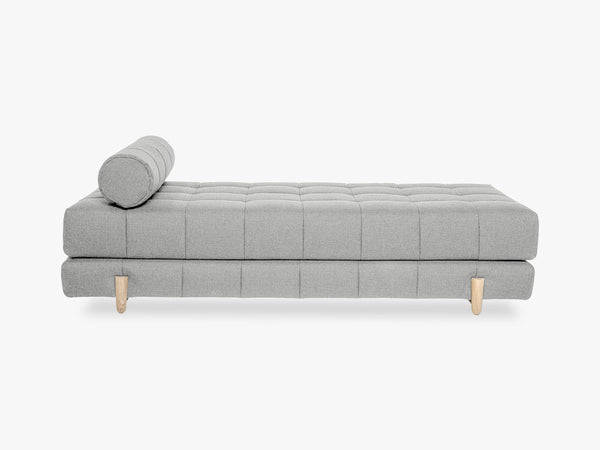 Bulky Daybed, Light Grey w/White Oiled Oak fra Bloomingville