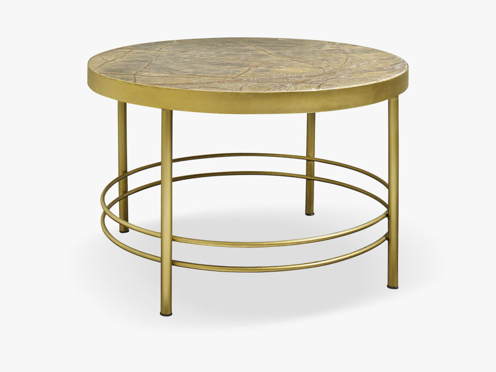 JUNGLE coffee table, round, four legs fra Nordal