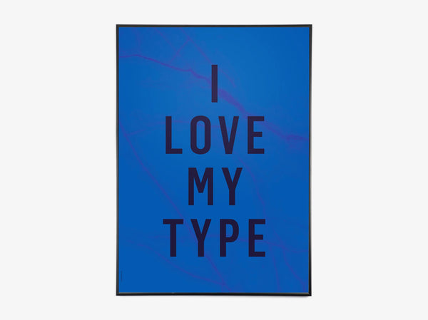 I Love My Type - Cobalt Blue fra I Love My Type