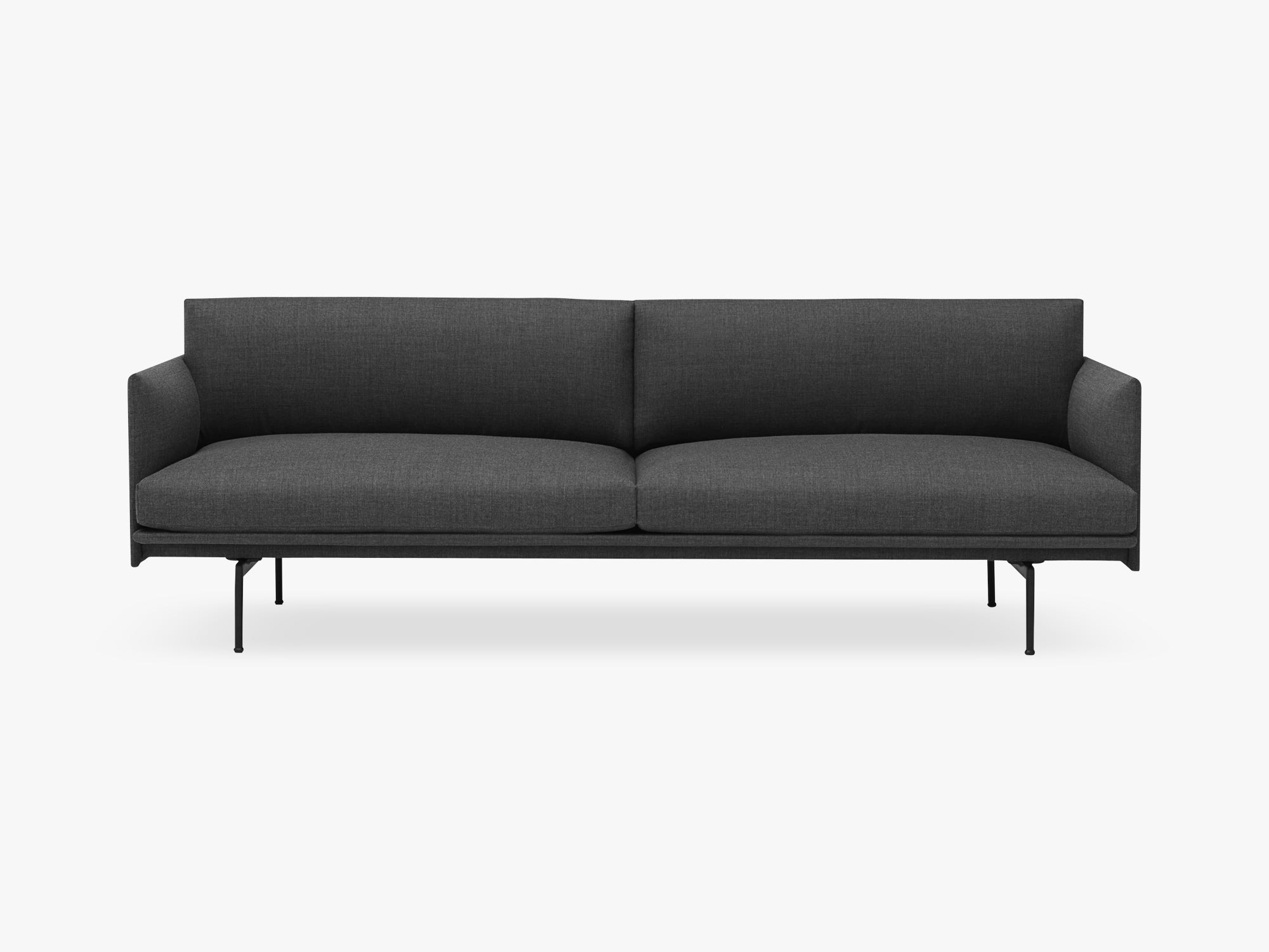 Outline Sofa - 3-Seater, Remix 163 fra Muuto