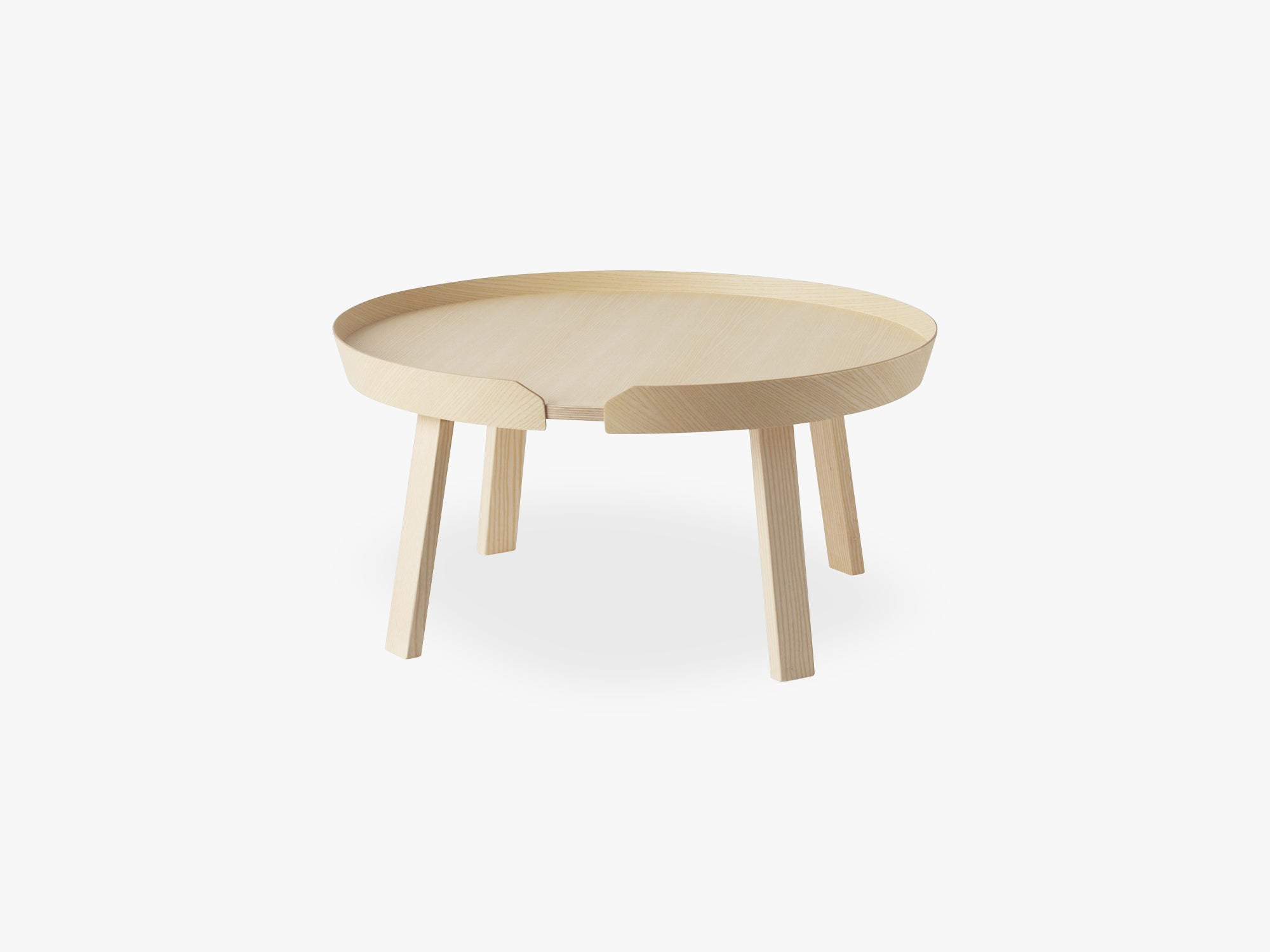 Around Coffee Table - Large, Ash fra Muuto