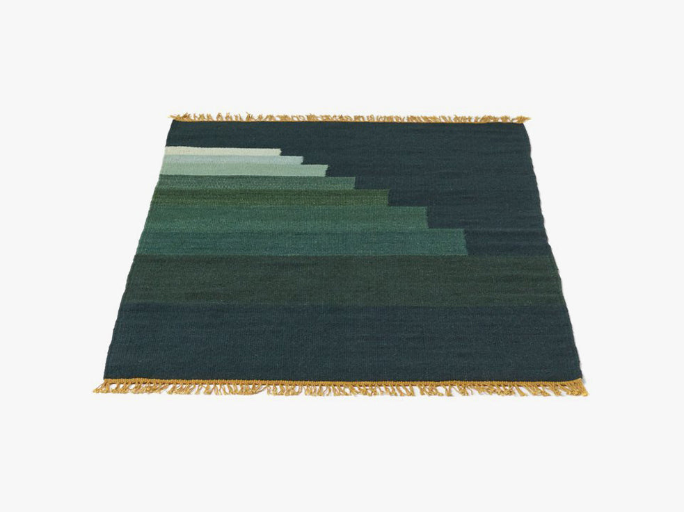 Another Rug - AP2, Green Jade fra &tradition