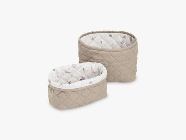 Quilted Storage Basket Set of Two, Hazel fra Cam Cam Copenhagen