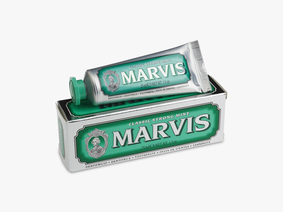 Marvis 25 ml, Classic Strong Mint fra MARVIS