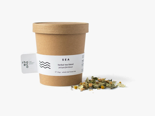 SEA herbal tea blend fra rhoeco