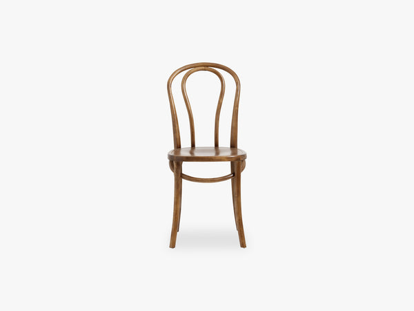 Bistro chair, brown wood fra Nordal