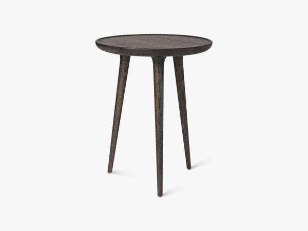 Accent Side Table Medium, Sirka Grey Stained Oak fra Mater