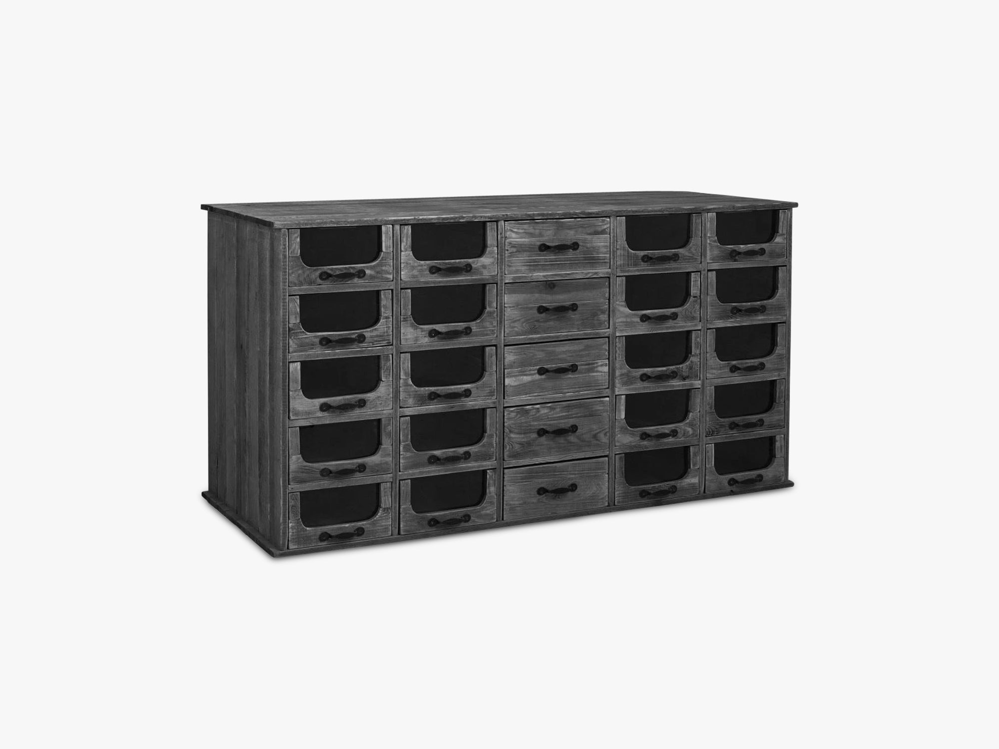 Pharmacy sideboard w 25 drawers fra Nordal