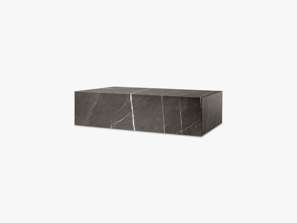 Plinth Low, Brown Grey Marble fra Menu