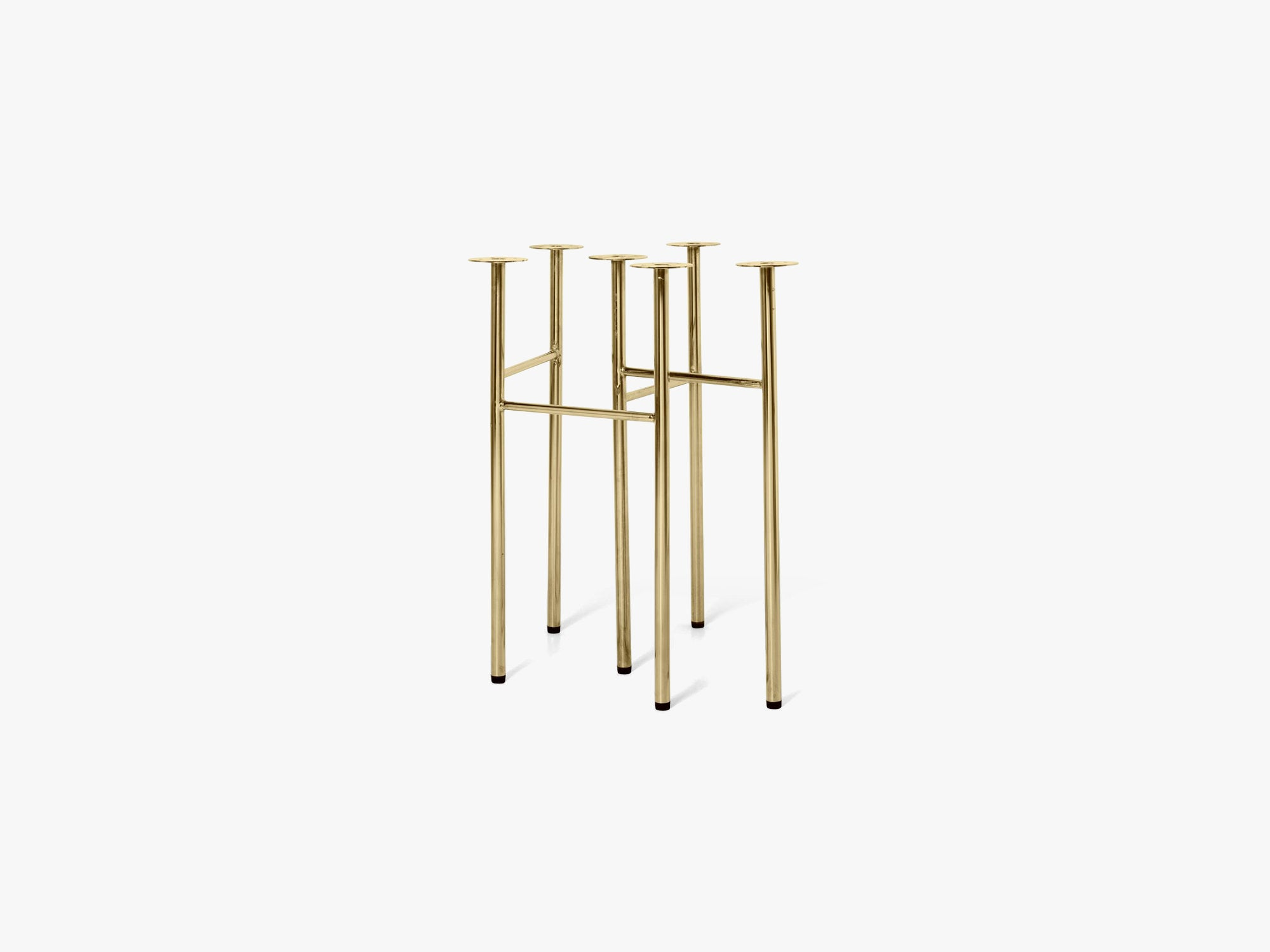 Mingle Table Legs W48, Brass fra Ferm Living