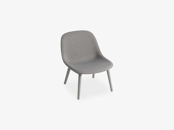 Fiber Lounge Chair - Wood Base fra Muuto
