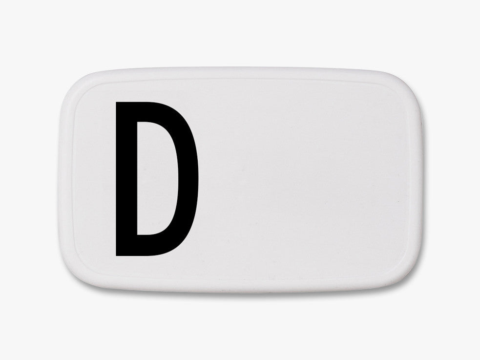 D - Personal Lunch Box fra Design Letters
