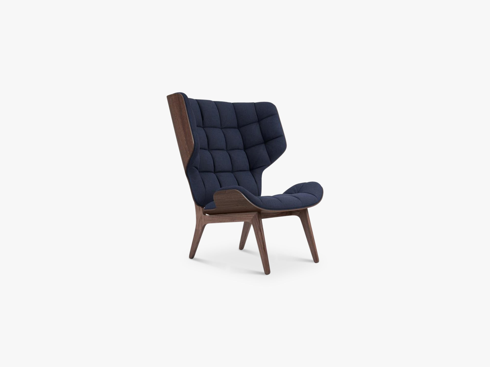 Mammoth Chair, Dark Stained/Navy Blue fra NORR11