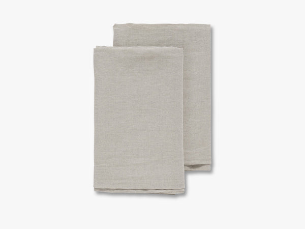 PURE LINEN table cloth, natural linen fra Nordal