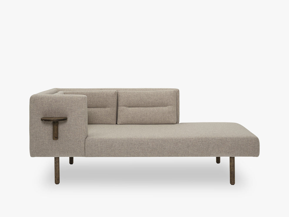 Lean Daybed, Brown, Wool fra Bloomingville