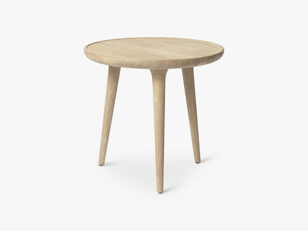 Accent Side Table Small, Mat Lacquered Oak fra Mater