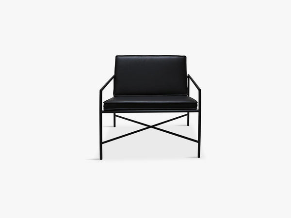 Lounge Chair, Black/Black fra Handvärk