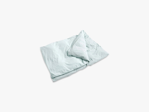 Duo Bed Linen - Duvet, Mint fra HAY