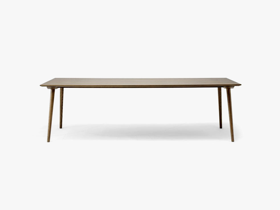 In Between Table - SK6 - 100 x 250 cm - Smoked stained oak fra &tradition