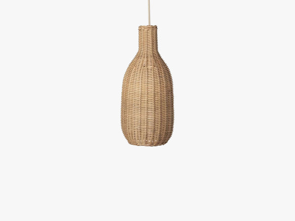Braided Bottle Lamp Shade, Natural fra Ferm Living