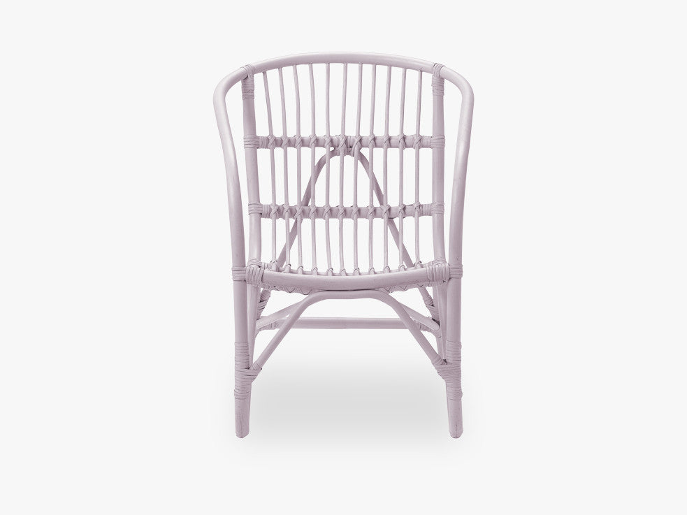 Charlotte Rattan Chair, Blush fra Bloomingville