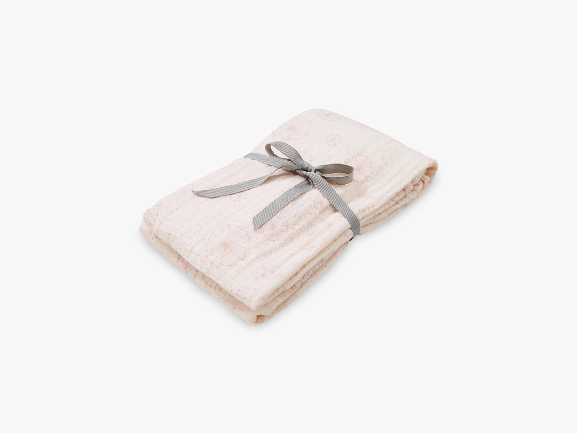 Swaddle Muslin Light, Printed, Dandelion Rose fra Cam Cam Copenhagen