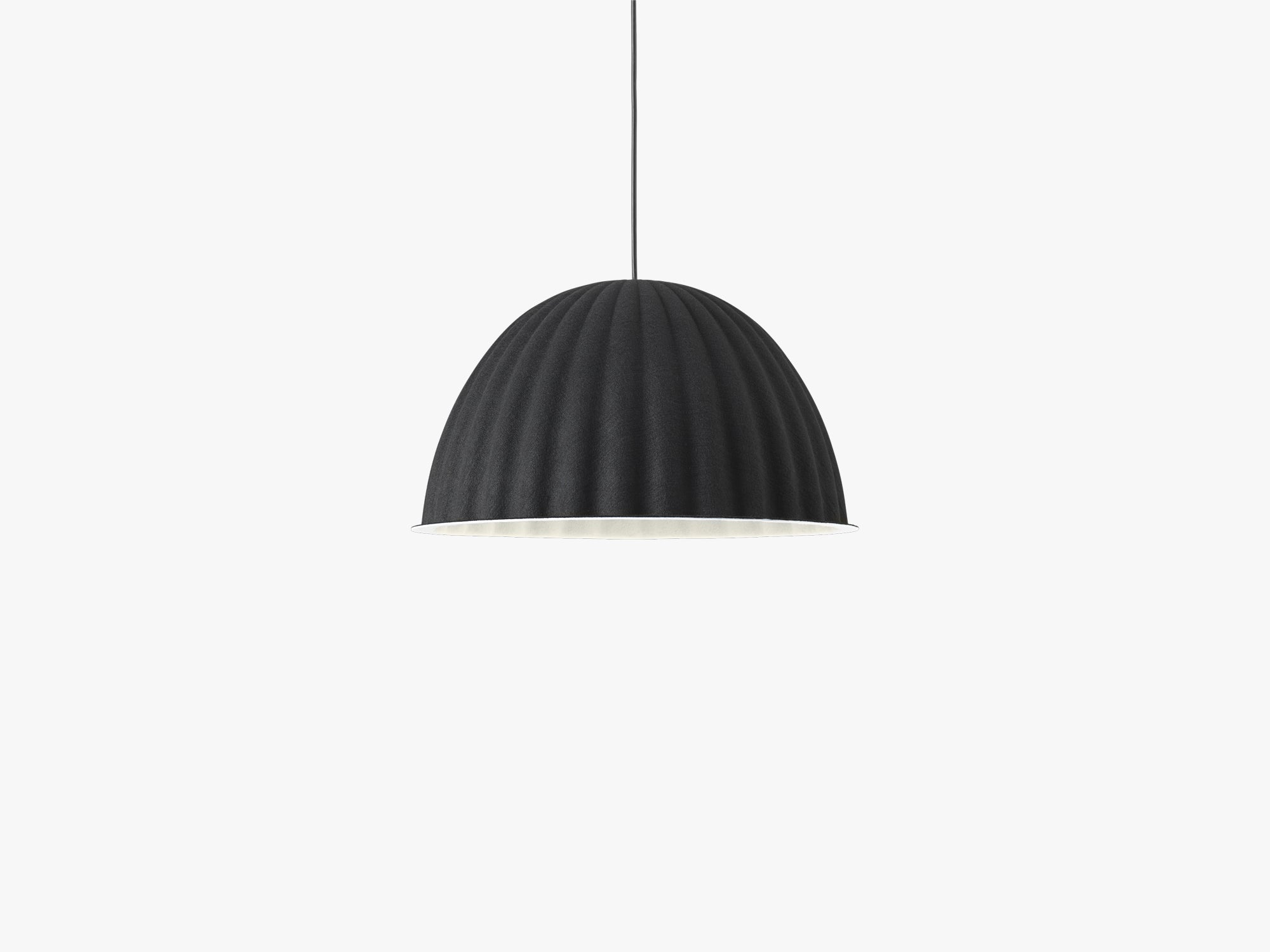 Under The Bell Pendant Lamp - Ø55, Black fra Muuto