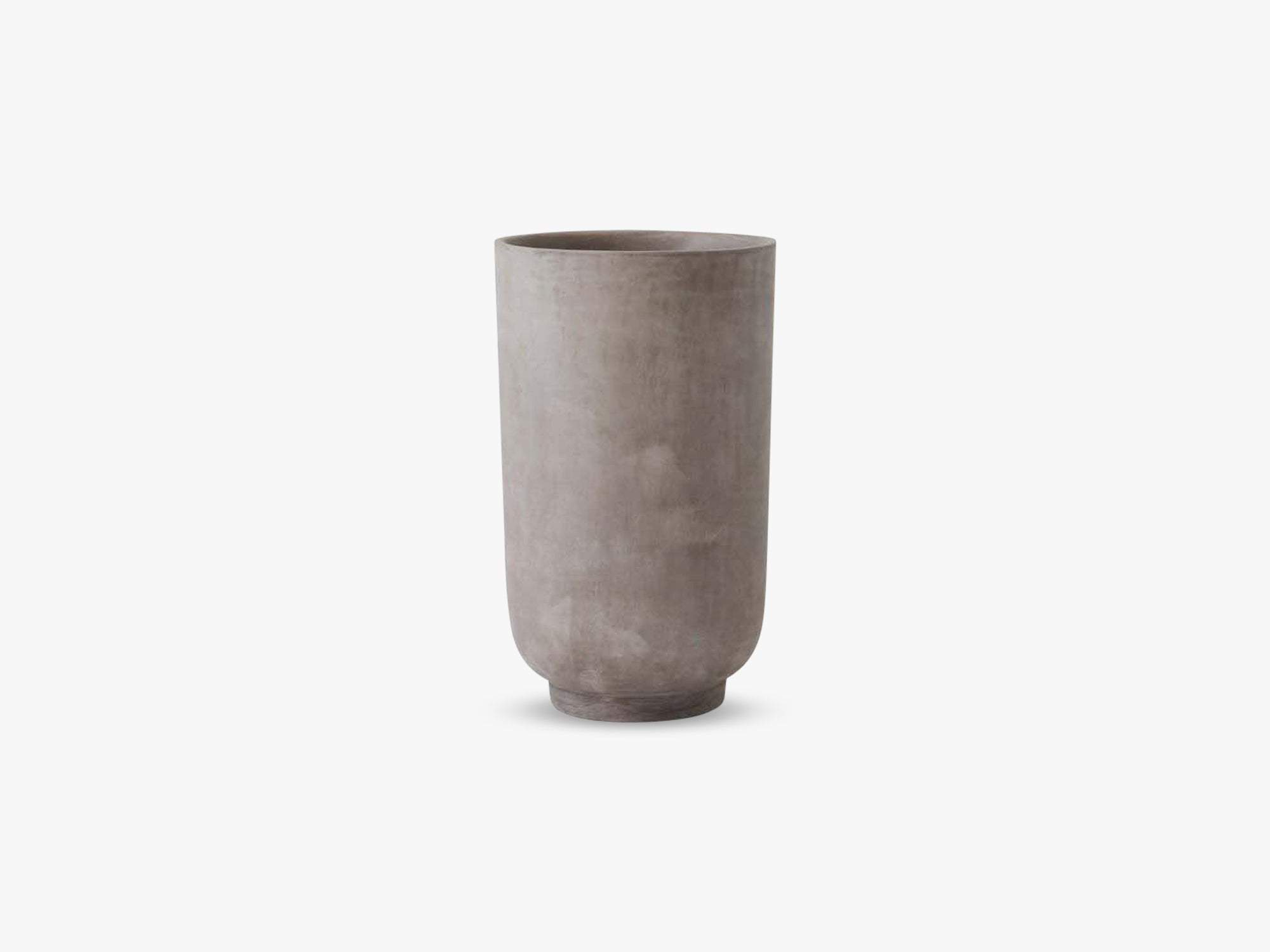 Collect Planter SC45 Tall, Silver Grey fra &tradition