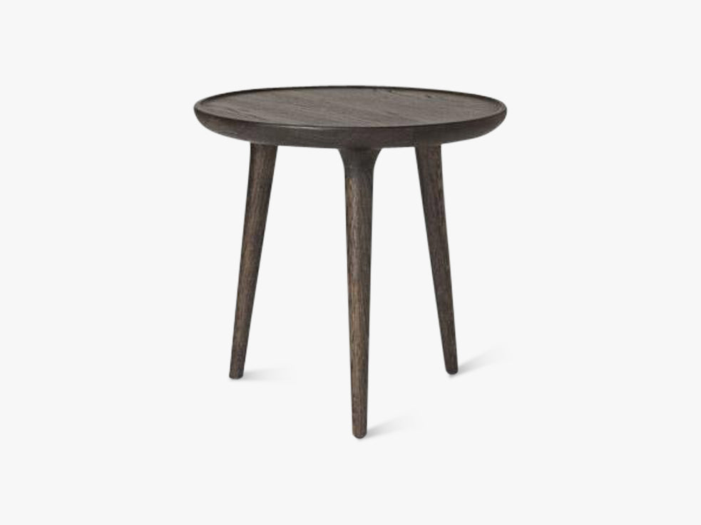 Accent Side Table Small, Sirka Grey Stained Oak fra Mater