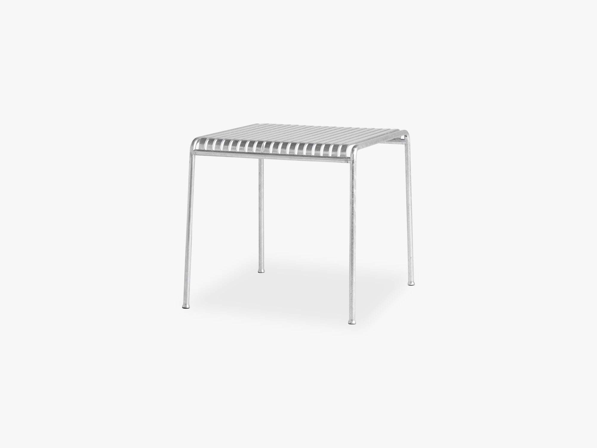 Palissade Table - Small, Hot Galvanised fra HAY