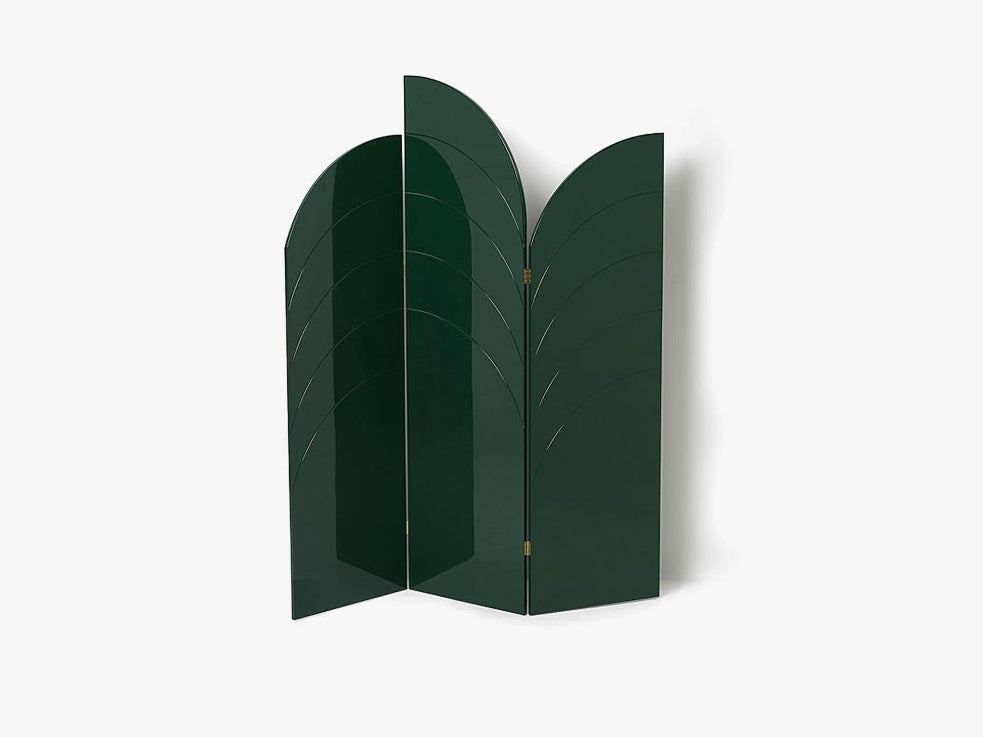 Unfold Room Divider, Dark Green fra Ferm Living