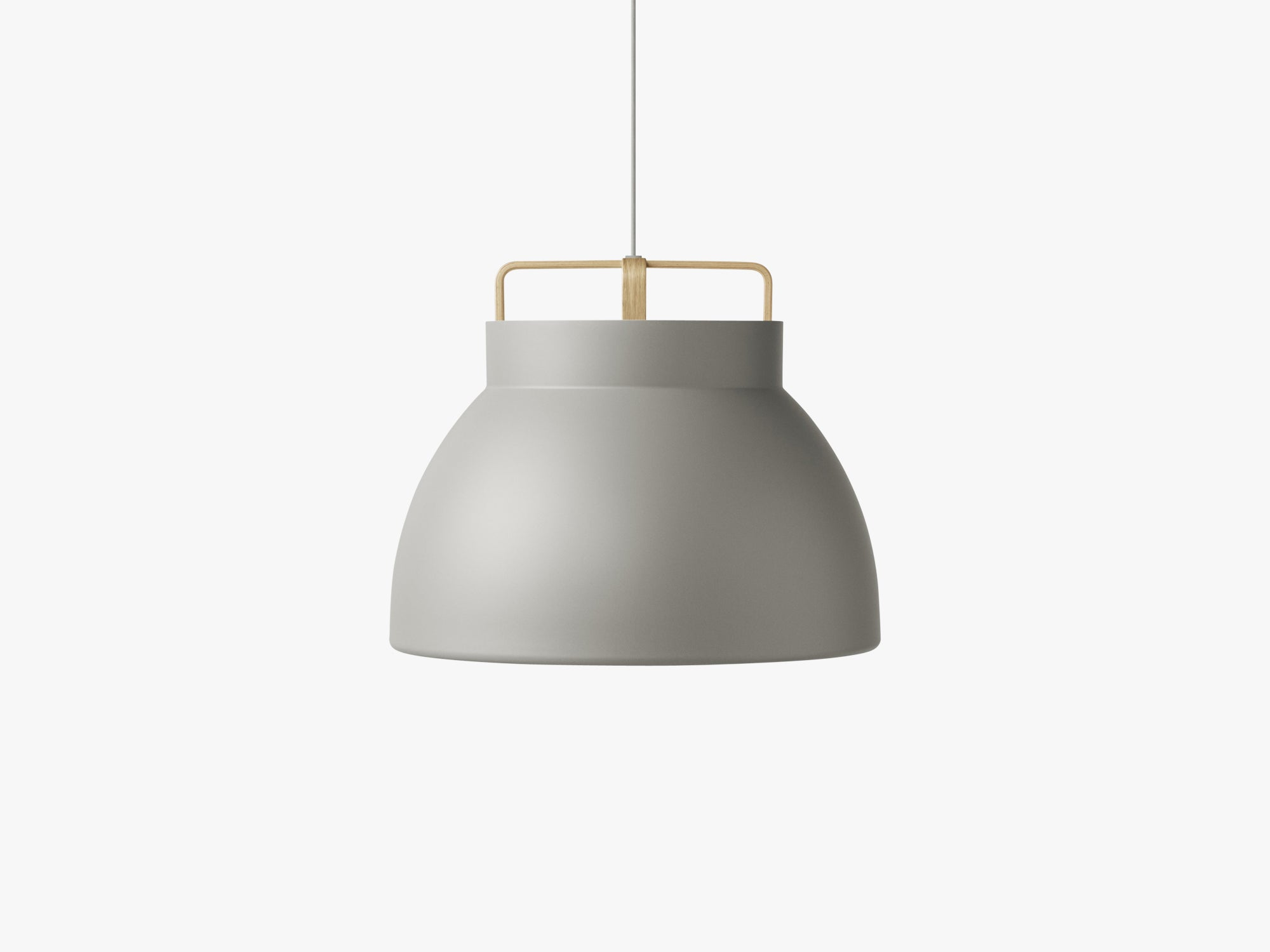 Voyage Pendant M3, Ø58 Grey/Oak fra MILLION