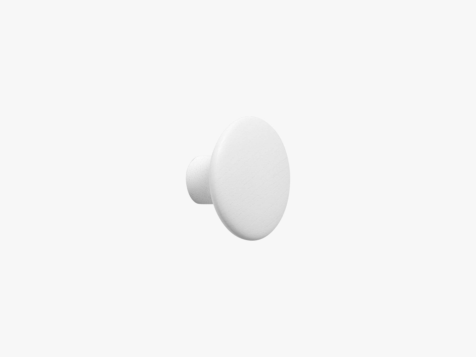 The Dots Coat Hooks / Small, White fra Muuto