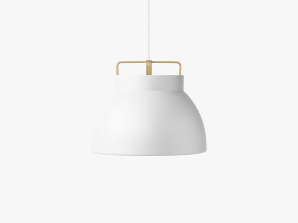 Voyage Pendant M3, Ø58 White/Oak fra MILLION