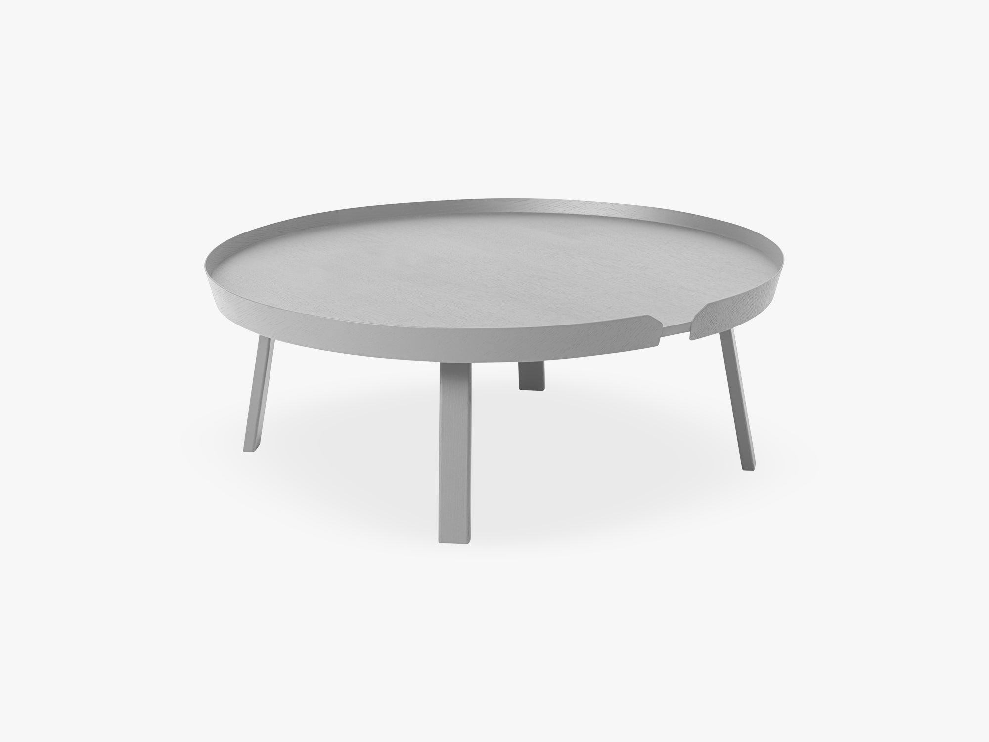 Around Coffee Table - Xl - Extra Large, Grey fra Muuto
