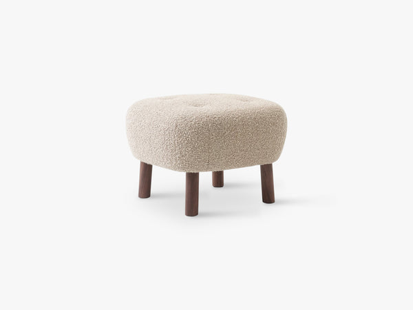 Lille Petra Pouf ATD1, Walnut - Karakorum 003 fra &Tradition
