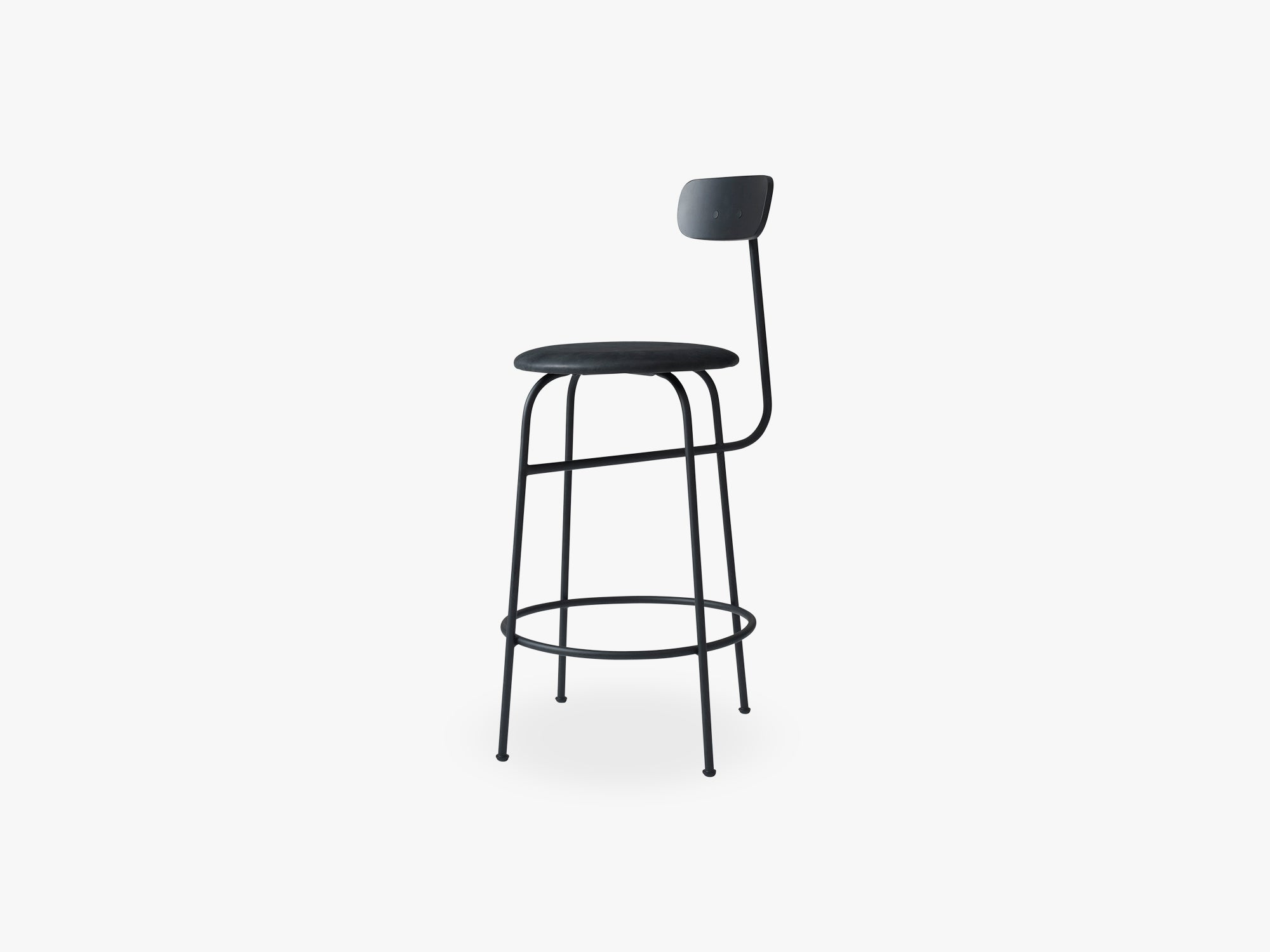 Afteroom Counter Chair, Black/Black