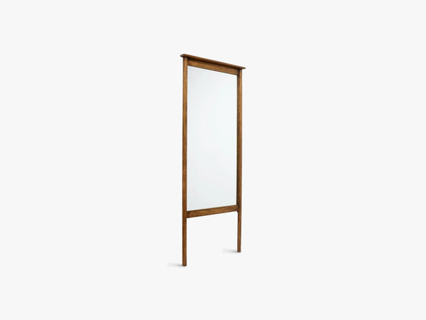 WASIA stand mirror, col birch wood fra Nordal
