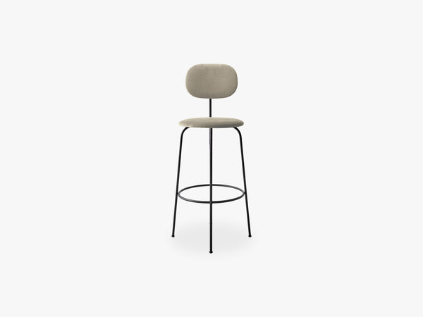 Afteroom Bar Chair Plus, Black/Savanna fra Menu