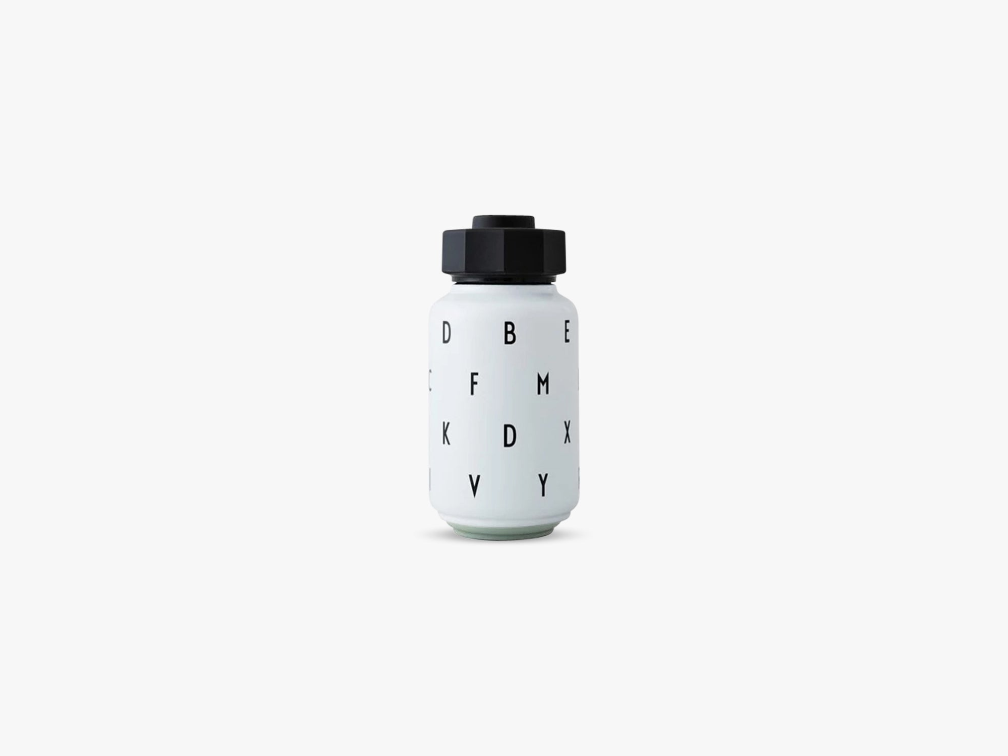 Thermo/insulated bottle kids, White fra Design Letters