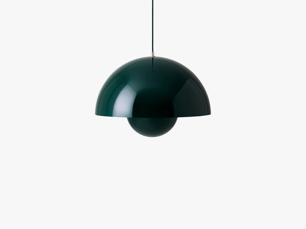 Big Flowerpot - VP2, Dark green fra &tradition