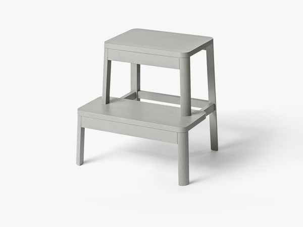 Arise Stool, Light Grey Oak fra MILLION