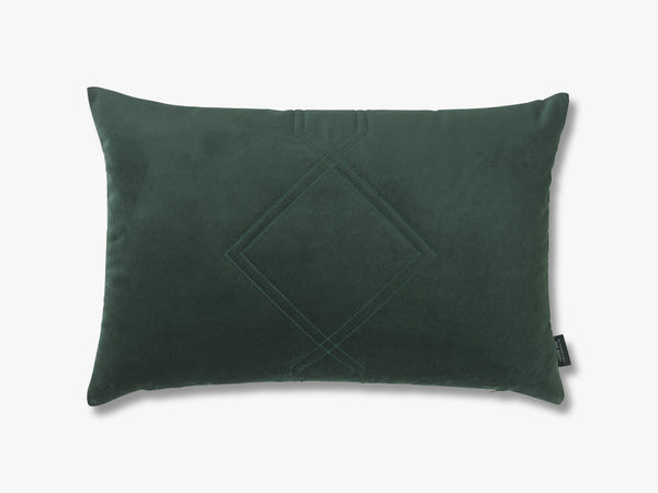 Diamond Pude 40x60, Jade Green fra Louise Roe
