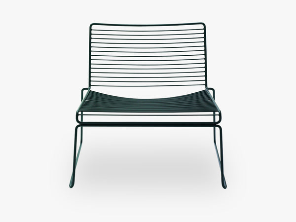 HEE Lounge Chair, Black fra HAY