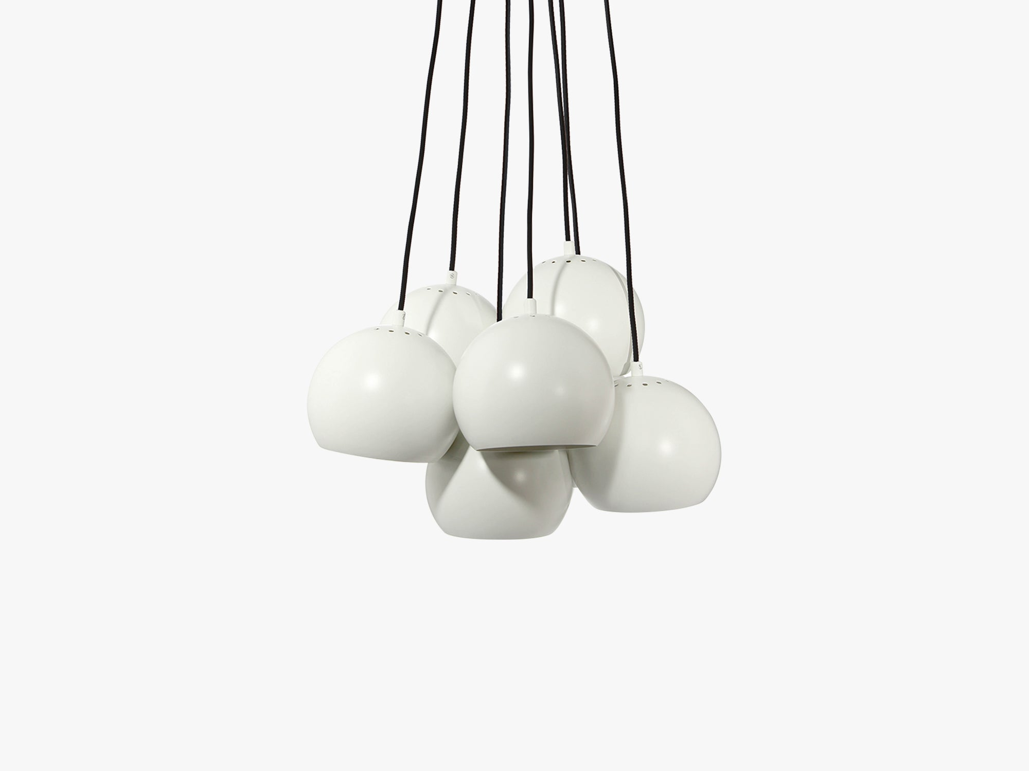 Ball Multi - Matt, White/Black fra Frandsen