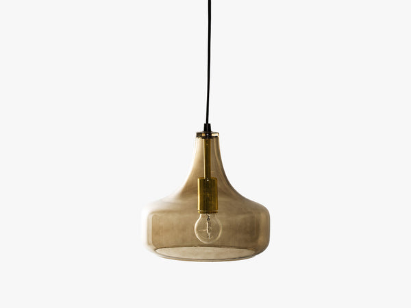 Pendant Lamp, Brown, Glass fra Bloomingville