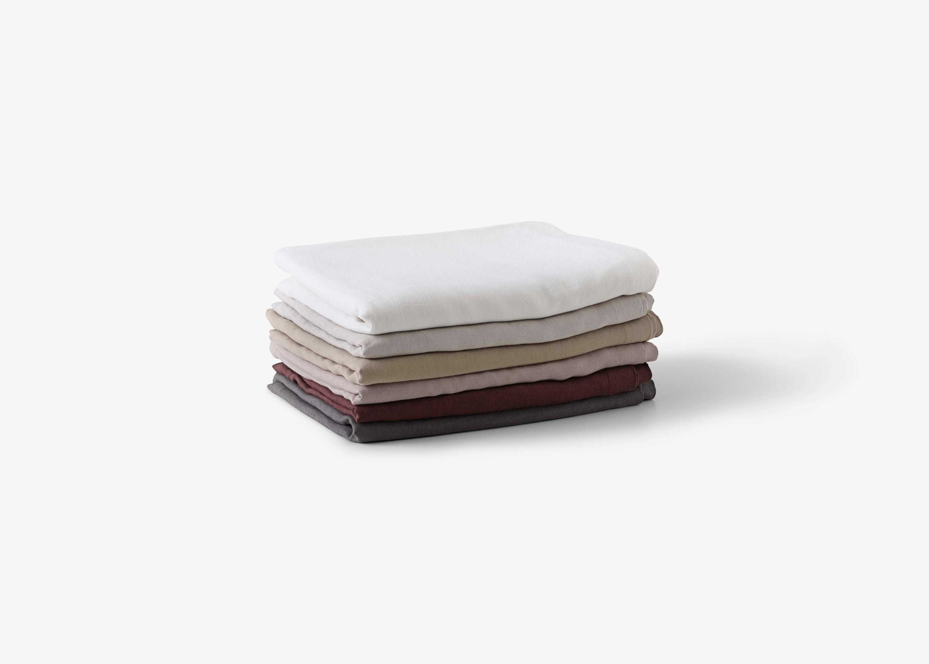 Collect Bedspread SC31, Cloud/Linen fra &tradition