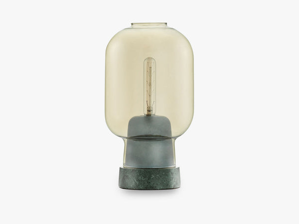 Amp Table Lamp, Green/Gold fra Normann Copenhagen